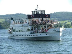 Windermere Lake Cruises - 5 minutes walk from Ellen Brow