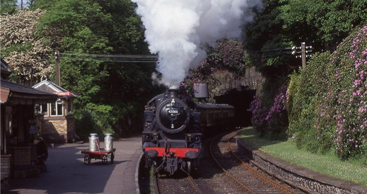 The Lakeside and Haverthwaite Railway